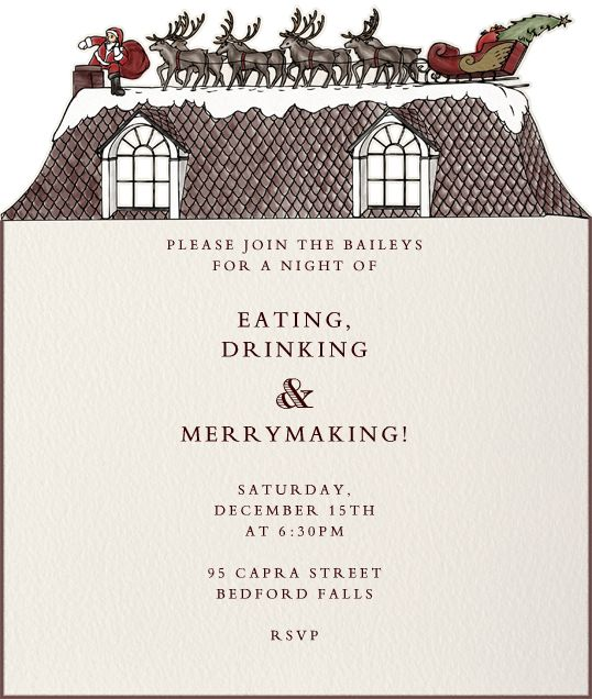 258 best images about Online Christmas Party Invitations – Online Christmas Party Invitations