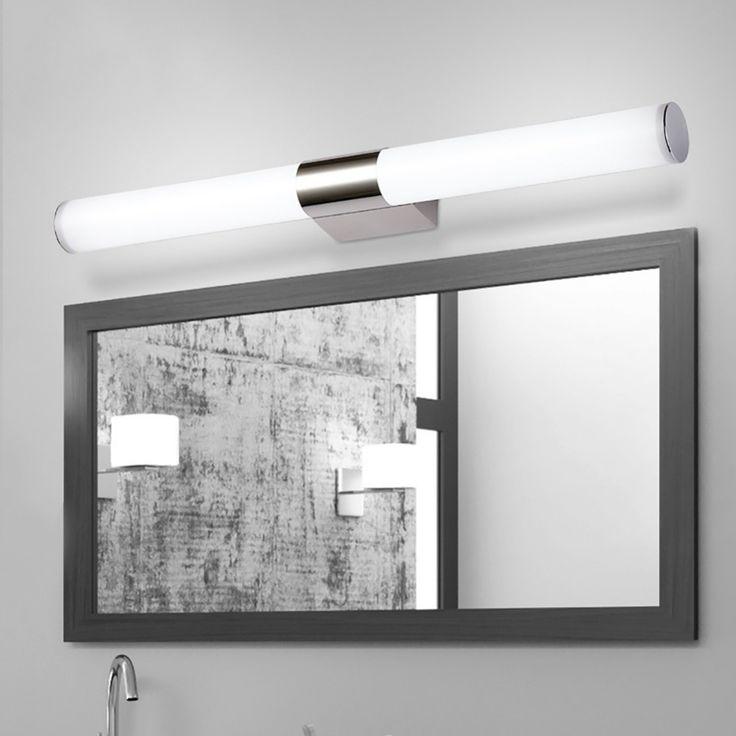 Bathroom Led Light Fixtures Over Mirror best 25+ led mirror lights ideas on pinterest | led mirror