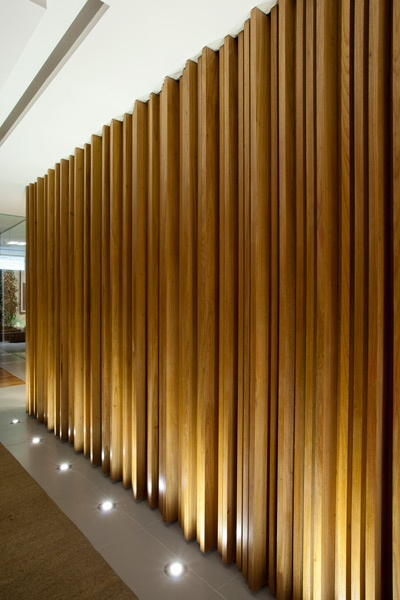Wooden Wall #bafco #bafcointeriors Visit www.bafco.com for more interior inspirations.