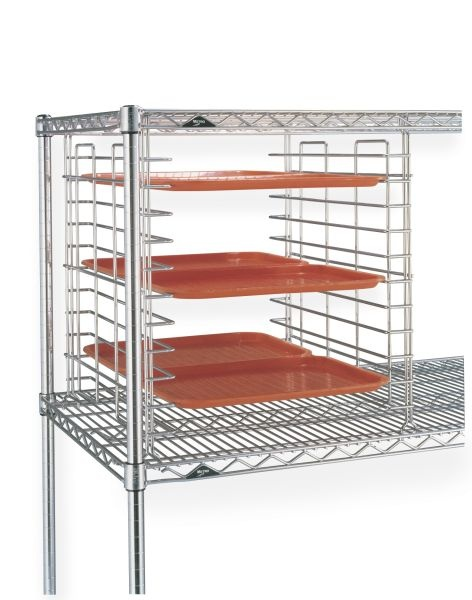 FREE UP SHELVES For More Efficient Use Of Space With Metrou0027s Tray Slides.  These