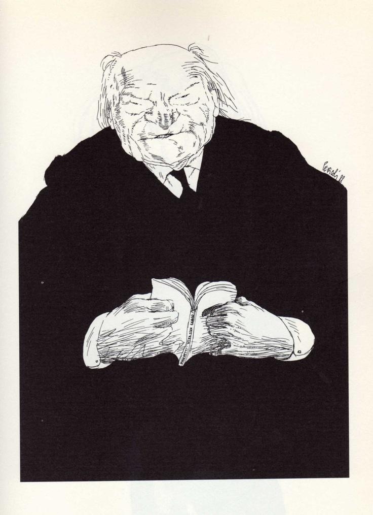 Tullio Pericoli  Giuseppe Ungaretti