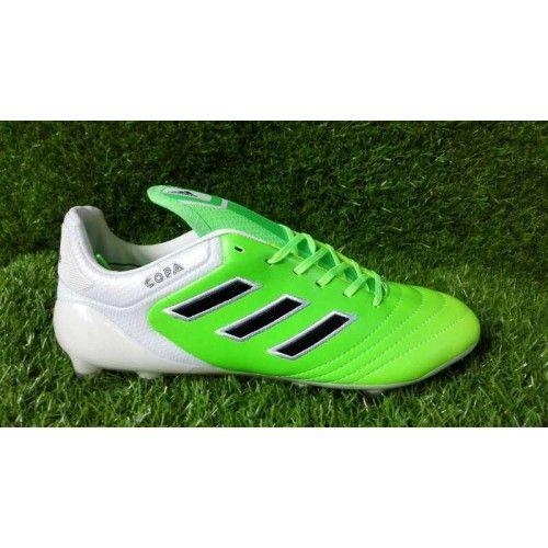competitive price 85e28 533ba Adidas Copa 17.1 FG - Chuteira 2017 Adidas Copa 17.1 FG Verde Branco Boa