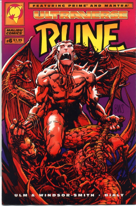Malibu Comics for more comic stuff, check out: adamantiumclaws.com #rune #barrywindsorsmith #malibucomics #wolverineartist #coolcomiccovers