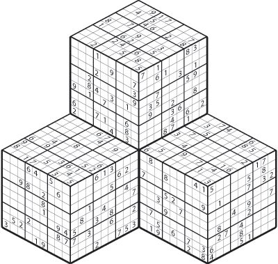 3D Sudoku Puzzles Printable