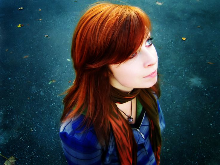 The Photography of Fiery Red Hair