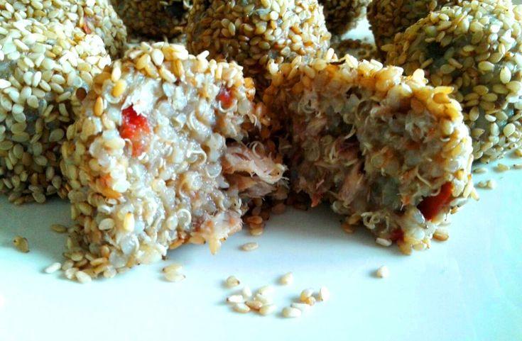 Tanta salute polpette fredde quinoa melanzane sgombro