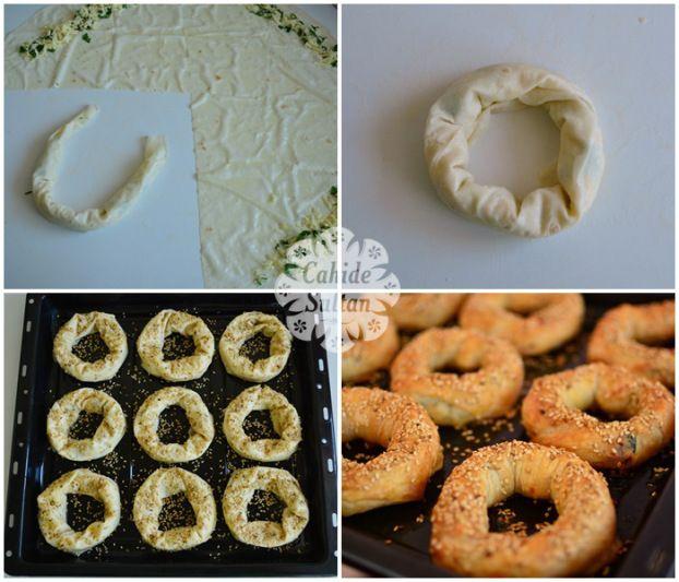simit börek yapımı