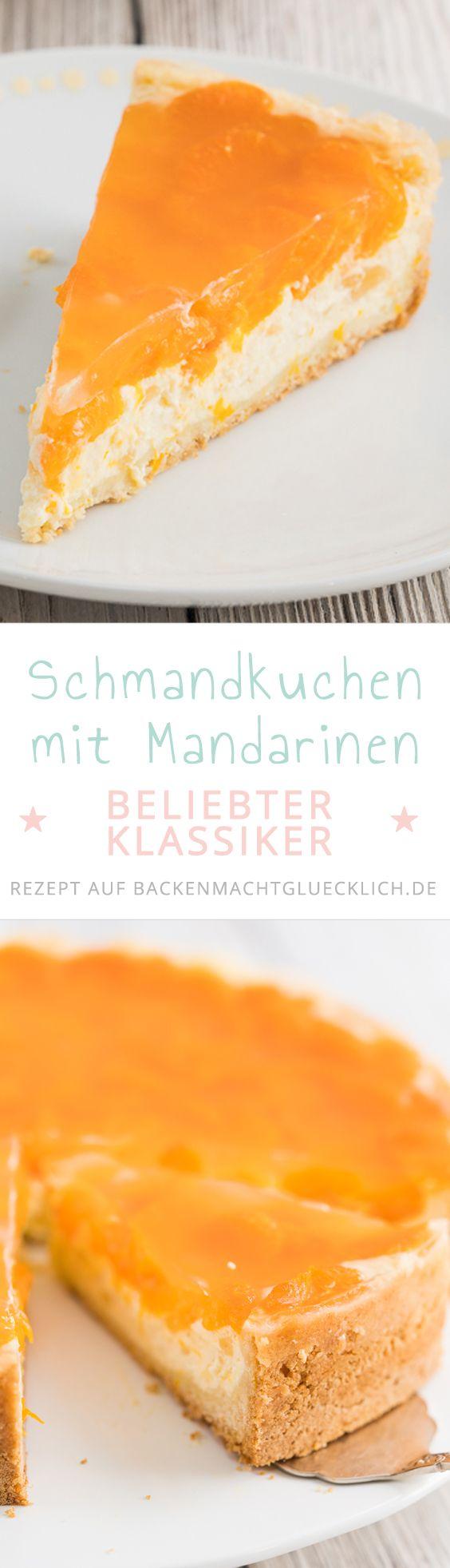 Bei dieser cremigen Mandarinen-Schmand-Torte handelt es sich um einen echten Kuchenklassiker, der immer gut ankommt. Kein Wunder: der klassische Mürbteig, die sahnig-luftige Füllung und der fruchtige Belag ergeben einfach ein köstliches Team!