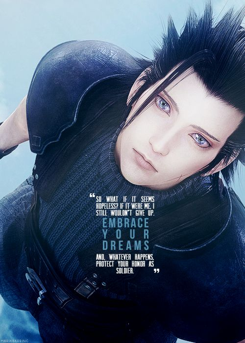 Zack Fair Final Fantasy: Crisis Core