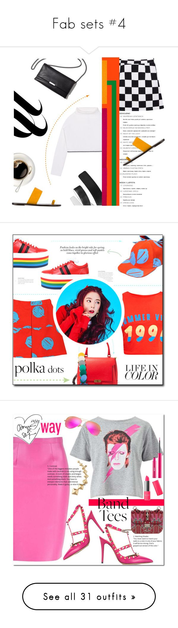 """Fab sets #4"" by misskarolina ❤ liked on Polyvore featuring DKNY, All Tomorrow's Parties, Loeffler Randall, VIVETTA, Anya Hindmarch, Miss Selfridge, Valentino, Ray-Ban, Sigma and Fendi"