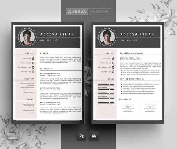 1000  ideas about professional resume design on pinterest