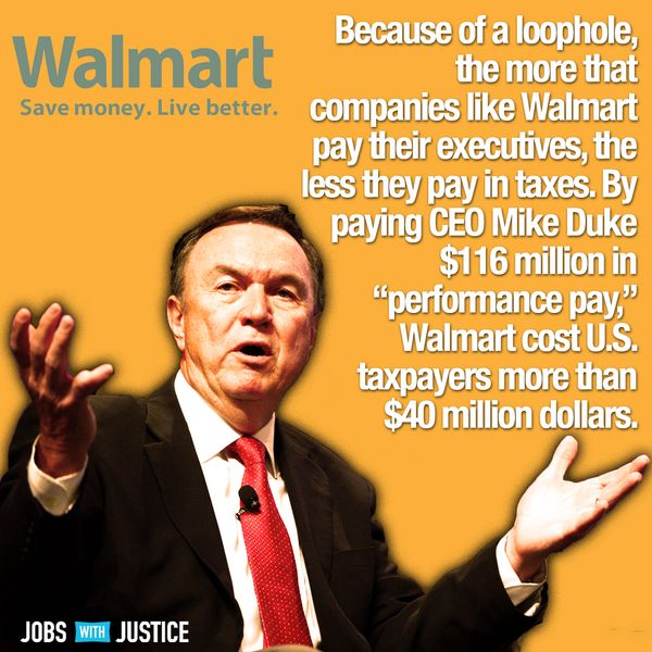 Thx REPUBLICAN PUPPETS who refuse to change TAXPAYERS SUBSIDIZING RICH CORPORATE MOOCHERS... like WALMART!!