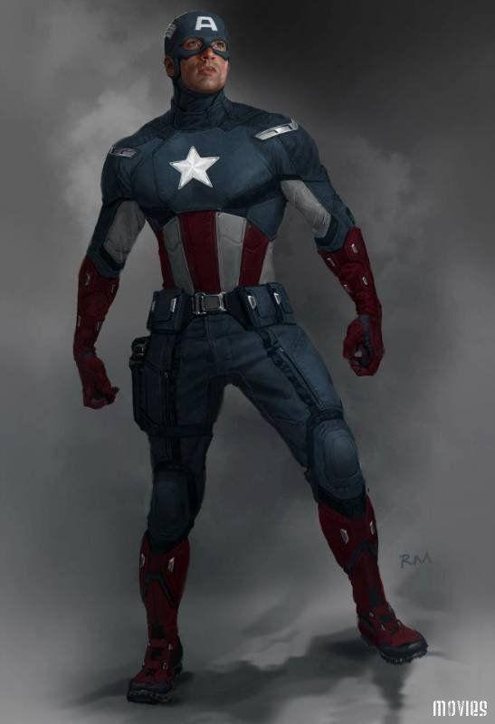 Мотоциклетный костюм Капитана Америки для гиков-экстремалов