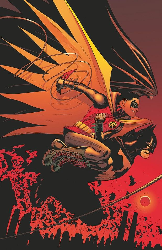 The new 52: Batman and Robin #18