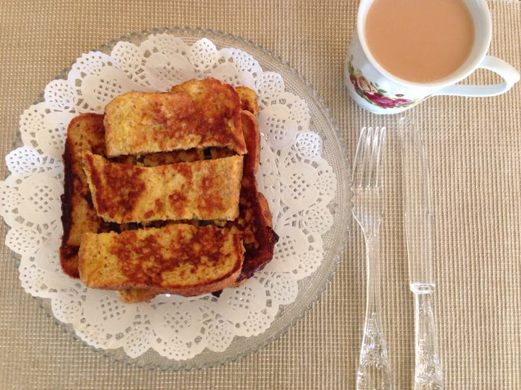 Maple  French toast breakfast