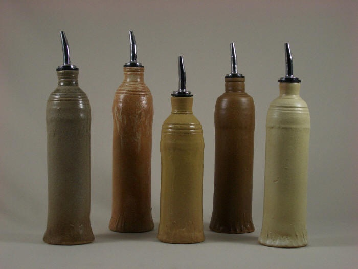 olive oil bottles. love these.