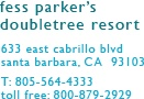 Fess Parkers Santa Barbara, booked for Avon Breast Cancer Walk!