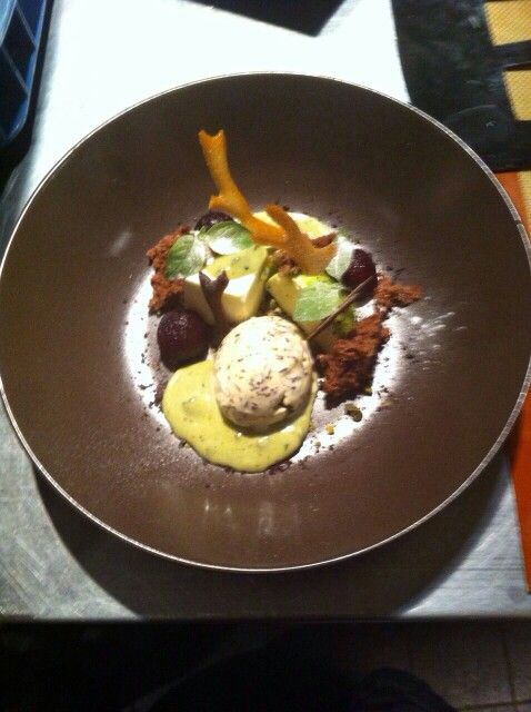 Vanille, pistache, stoofappel - Damhotel - Edam - Patrick Freriks