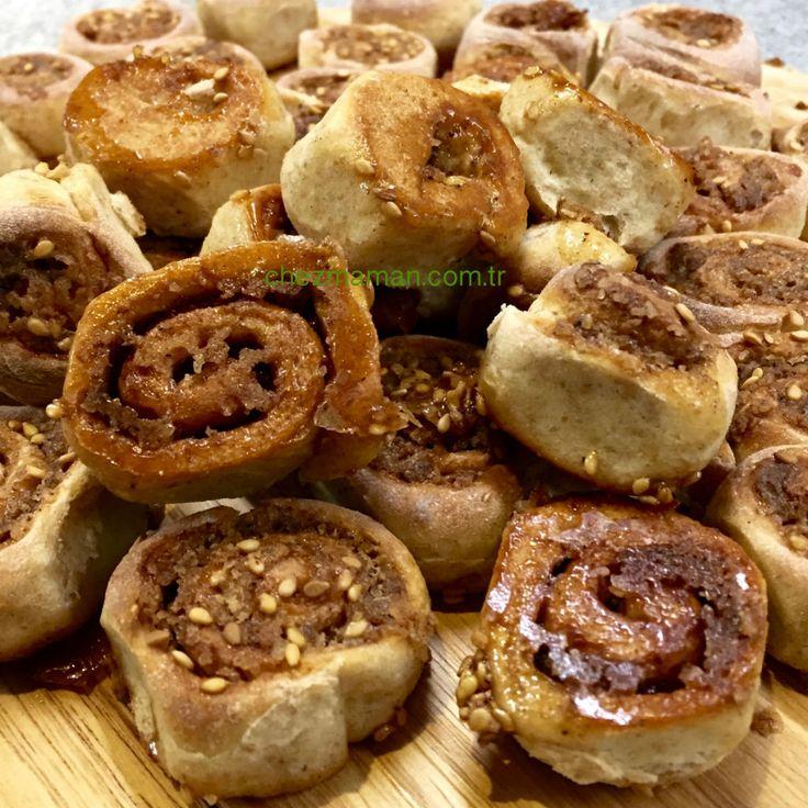 Çılgın Hamurlu Tarçınlı Rulolar-Crazy Dough-Cinnamon Roll