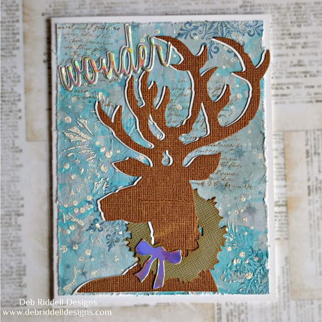 Pin On Handmade Cards By Deb Riddell Designs