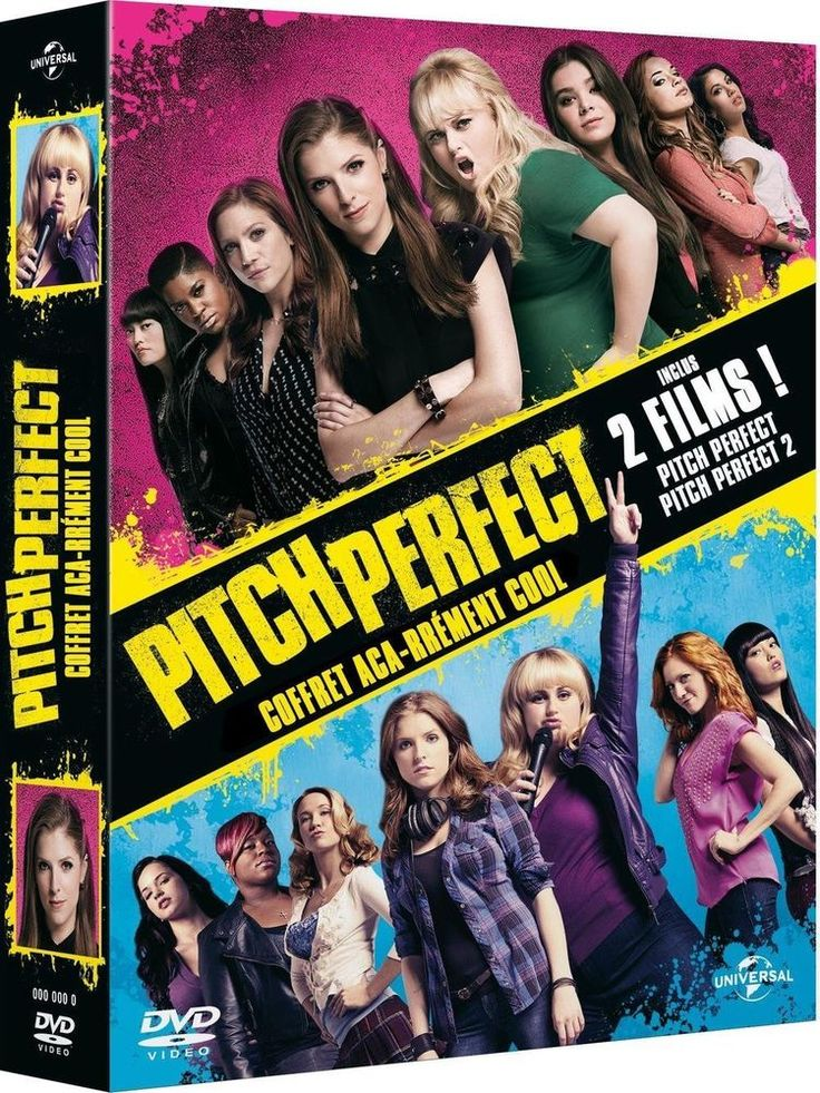 Pitch Perfect + Pitch Perfect 2 - DVD NEUF