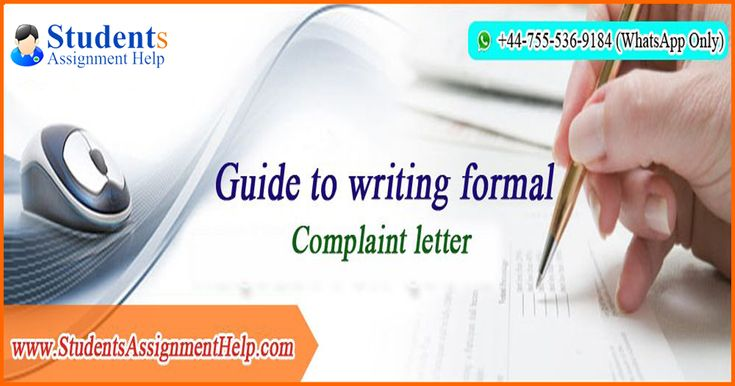 Complaint Letter Writing Tips