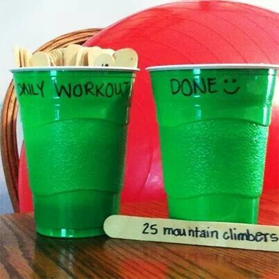 i should just put all core exercises in there. | Such a great idea! Pick a random workout for the day.