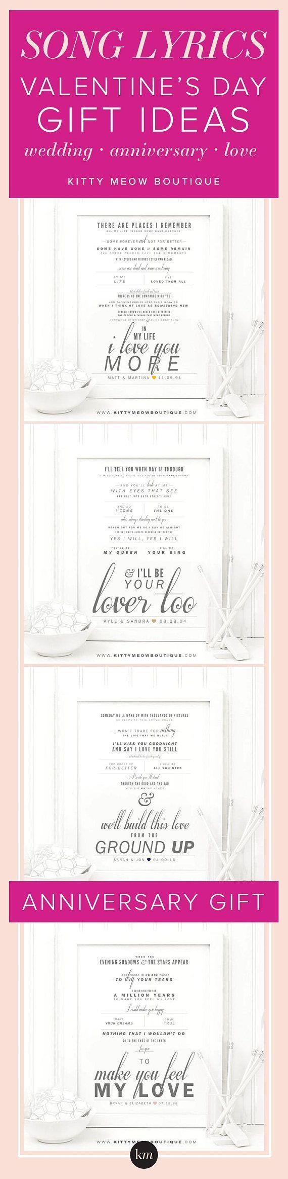 549 best wedding invitations and stationery images on pinterest frank sinatra the way you look tonight song lyric art print valentines stopboris Images