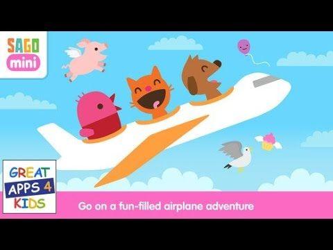 Sago Mini Planes | HD Gameplay - Playful Airplane Fun Adventure Kids Games
