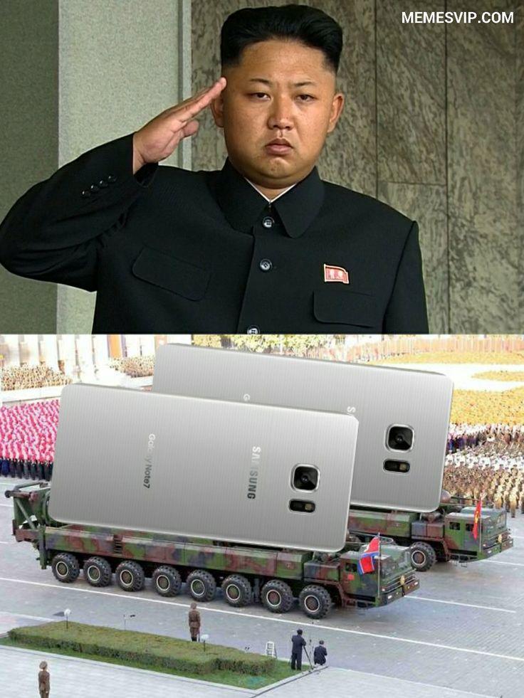 Meme Kim Jong Un Samsung Note.