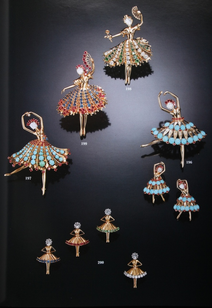 1000 Images About Van Cleef And Arpels Ballets And Balls On Pinterest Brooches Van Cleef