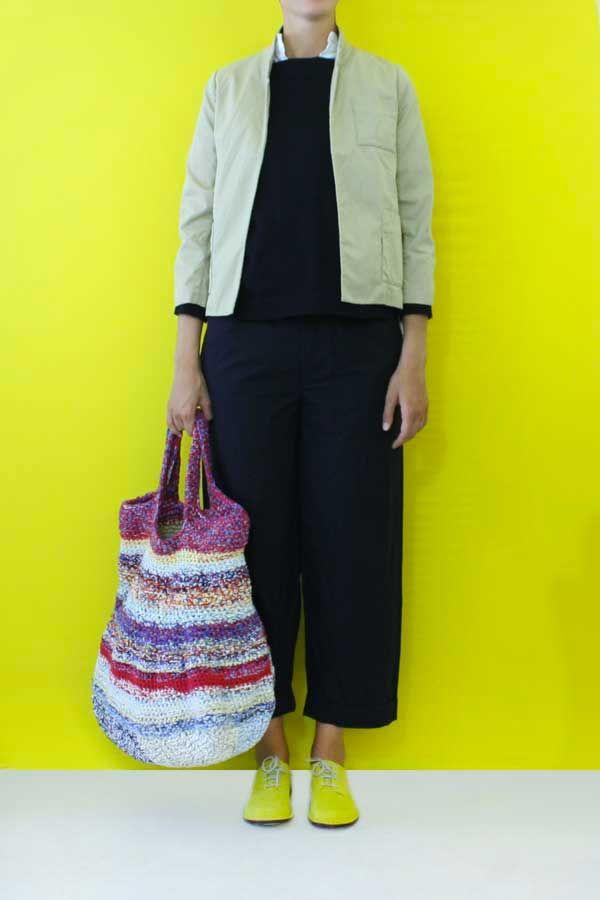 Daniela Gregis crochet bag secchiello