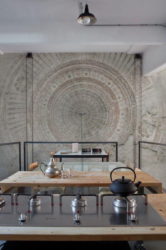 25 beste idee n over marokkaans behang op pinterest marokkaanse tegels marokkaans patroon en - Deco originele muur ...