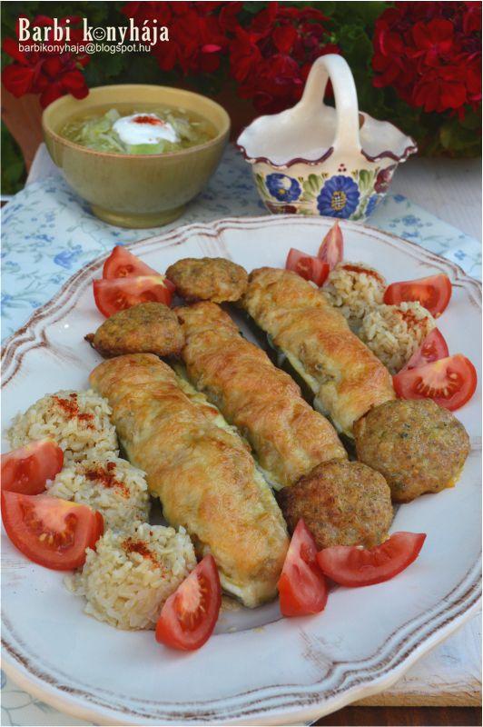 Barbi konyhája: Töltött cukkini