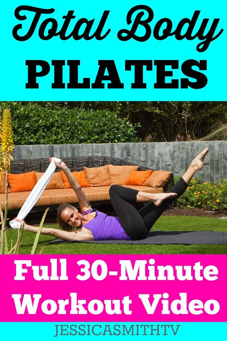 cool 30-Minute Total Body Pilates Workout - Jessica Smith TV