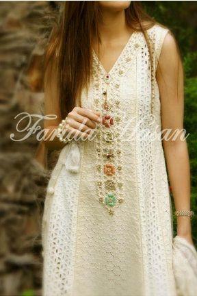 Spring 2013 Pakistani Fashion by Farida Hasan