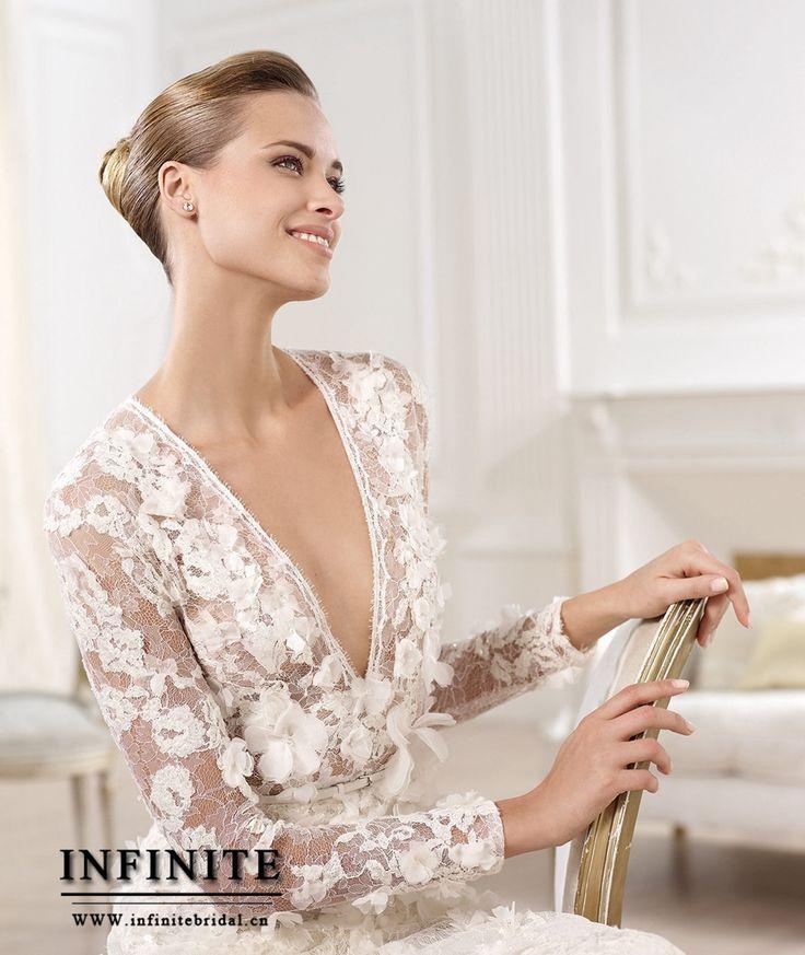 125 best wedding dresses:) images on Pinterest | Weddings, Bridal ...