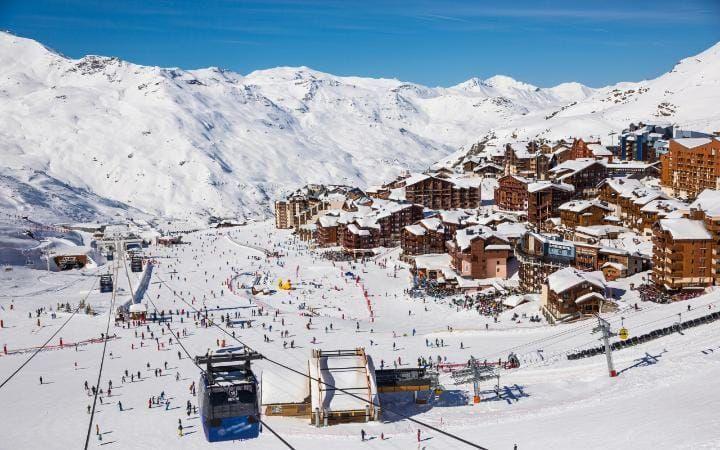 Top 5 Reasons To Ski The Three Valleys At New Year Skiing Ski