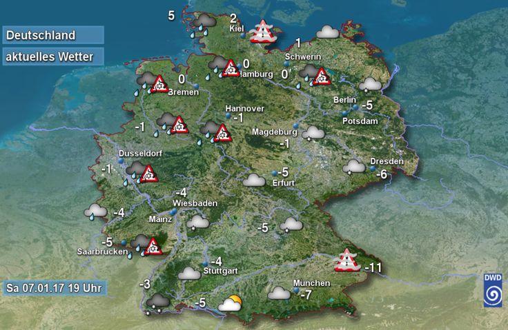 aktuelle Wetterwerte Deutschland
