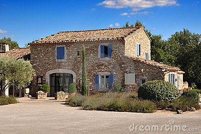 Provence stone house by Razvan Matei, via Dreamstime