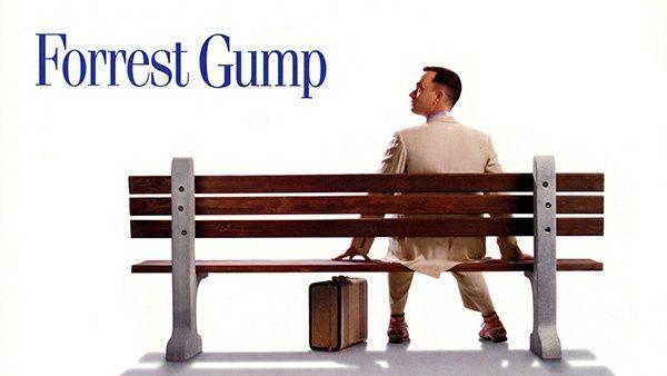 Forrest Gump - Esta película es épica en su alcance. Una historia de un hombre superando los obstáculos en su vida, Tom Hanks es increíble en el papel de un hombre sencillo que utiliza la sabiduría de su madre para navegar su vida.
