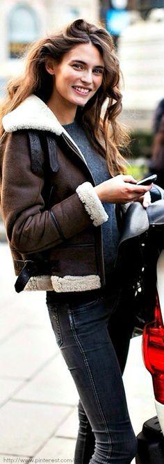 Beautiful jacket.