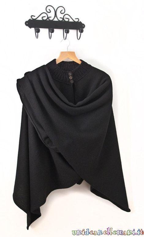 Come realizzare una mantella a maglia [FOTO] | Pourfemme