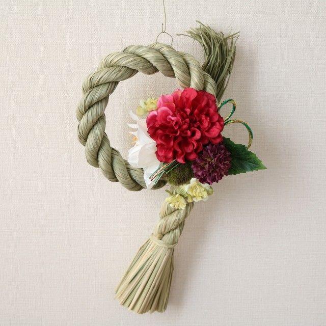 新年のお迎えに♪しめ縄飾り - Heartstrings