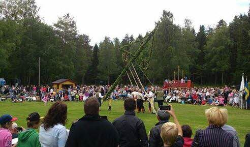 Midsommarfirande Lunedets Camping