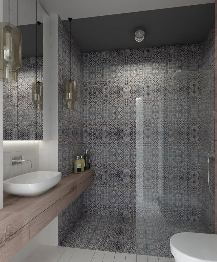 40 Grey Bathroom Tile Ideas And Pictures Bathroom Pinterest Tile Ideas Bathroom Tiling