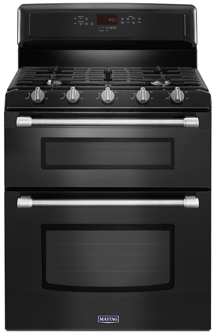 Gemini 59 inch modern single sink vanity set free shipping today - Cooking Products Maytag Black Freestanding Double Gas Range 6 0 Cu Ft