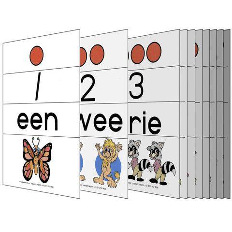 Picture of 1 - 10 Kaarte en Aktiwiteite