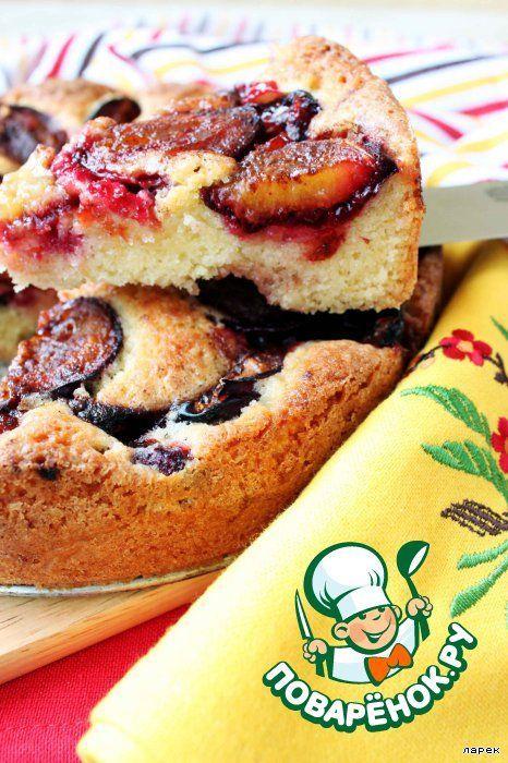 """Сливовый пирог из газеты """"New York Times"""" - кулинарный рецепт"""