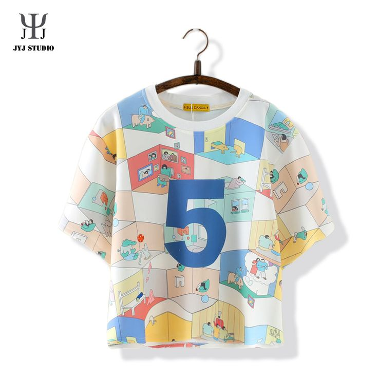 Aliexpress.com : Buy Summer Sweet Casual Loose Shirt For Women Short Sleeve O neck Cotton Colorful Blouses With Cartoon Letter Printed from Reliable blouses for women 2013 suppliers on JYJ STUDIO